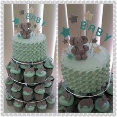 Cupcakes elefante