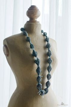 Las maravillosas ideas de mi amiga Gloria =) Gourmenderies: Collarets de Llana