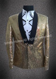 Gold jacket Men Gold Blazer For Men Golden State Jacket Sequin Stage Jacket Men Singer Men Dance Costumes Performance-in Blazers from Men's Clothing & Accessories on Aliexpress.com | Alibaba Group