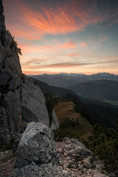 #Kampenwand #Chiemgauer Alpen #Bavaria #Germany