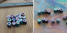 How to Repurpose Colored Pencils into Colorful Accessories via Brit + Co.