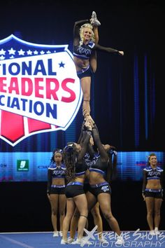 """""""Reign reign go away that's what all my haters say"""" Maryland twisters Reign Cheer Flexibility, Cheer Coaches, All Star Cheer, Cheer Dance, Dream Team, Stunts, Reign, Cheerleading, Gymnastics"""