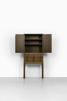 Carl Malmsten Lillbo cabinet in walnut at Studio Schalling