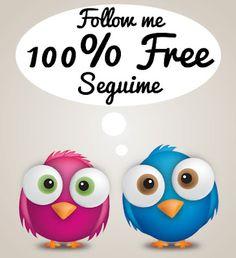 Seguime y te sigo 100% free
