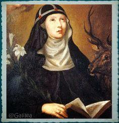 Santa María, Madre de Dios y Madre nuestra: 22 de marzo   SANTA CATALINA DE SUECIA, VIRGEN