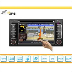 Car CD DVD Player GPS Nav Navi Map Navigation For Toyota Ipsum 2001~2009 Radio Audio Video Stereo S160 Multimedia System #Affiliate