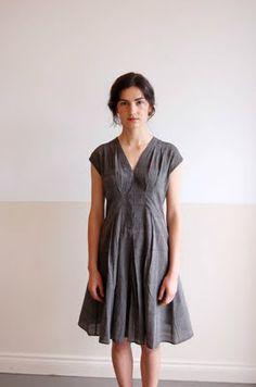 una: adri gray dress #pdx Portland, Oregon