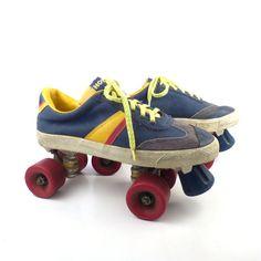 Hobie Sneaker Roller Skates Vintage 1970s Men's size 10 1/2