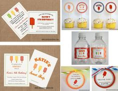 popsicle party invitations for the summer