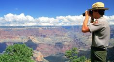 A park ranger at Grand Canyon National Park. (From: Confessions of a National Park Ranger)