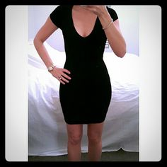 Express LBD Tight sexy dress. As seen in pics. In great condition, only worn a few times. Express Dresses
