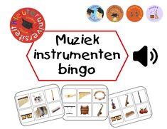 Muziekinstrumenten bingo | Kleuteruniversiteit