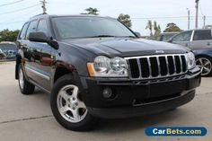 2008 Jeep Grand Cherokee WH MY08 Limited (4x4) Black Automatic 5sp A Wagon #jeep #grandcherokee #forsale #australia
