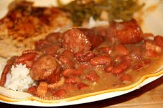Deep South Dish: Homemade Southern Red Beans and Rice