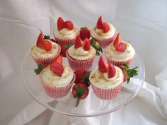 Strawberry 'Cheesecake' Cupcakes – Summer Is Here! | Tasty Kitchen: A Happy Recipe Community!