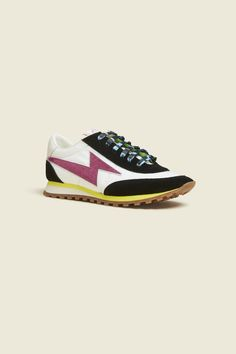 buy online 74465 f9c84 Classic retro sport sneakers are updated in new color combinations inspired  by the viant hues of