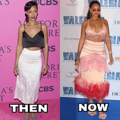 Rihanna says she learned to contour her face when she ...