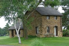 old stone house                     ****