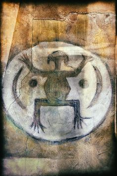 F.R.O.G.  Native American Pictograph Fine Art Photography by Jo Ann Tomaselli #nativeamerican #frogtastic #joanntomaselli