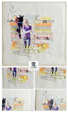 I just loooove this!  What a great way to use Washi tape... (Wilna Furstenberg 8/1/12)