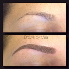 Cosmetic eyebrow tattoo #browsbymelz