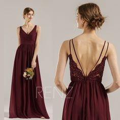 Wine Bridesmaid Dress Chiffon Formal Dress Ruched V Neck Prom Dress Long Illusion Lace Backless Dress Sleeveless A-line Evening Dress(H688B) Taupe Bridesmaid Dresses, Backless Bridesmaid Dress, V Neck Prom Dresses, V Neck Dress, Strapless Dress, Formal Dresses, A Line Evening Dress, Evening Dresses, Wine Dress