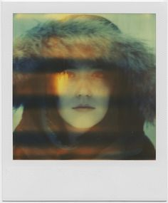 polaroid time-zero film (expired in may of Signed on Kodak Endura metallic paper Lab printed from a high resolution, lossless Portable Network Graphics file Available in my Etsy Shop Light Leak, Eye Photography, Underworld, Art Inspo, Mona Lisa, Fire, In This Moment, Eyes, Artwork