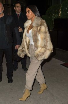 Kim Kardashian Out In New York - January 16, 2017