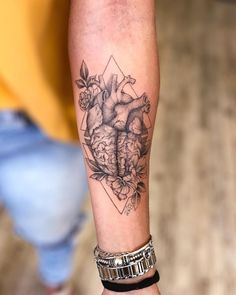 the tattoo artist and the perfect inspiration for your tattoo. - Find the tatto Dream Tattoos, Mini Tattoos, Future Tattoos, Body Art Tattoos, Tatoos, Sleeve Tattoos For Women, Tattoos For Guys, Brain Tattoo, Zealand Tattoo