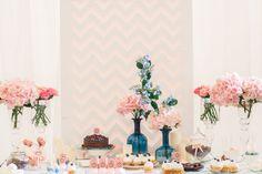 Гармония цветов, сладкий стол - The-wedding.ru