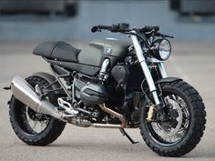 2015 R1200R Scrambler, latest release by Lazareth (via Inazuma Cafe Racer)