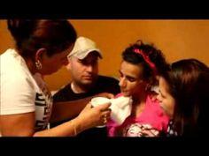 Linda Perez, primer video despues de la operacion que puso en riesgo su vida - YouTube