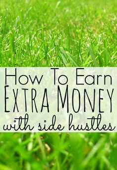 Make Extra Money – Offline Side Hustles. While most blog posts about side hustles seem to focus on ways to make money online, I'd like to shine the spotlight on excellent side hustles that have nothing to do with the online world.