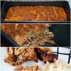 Para quien gusta de carne molida: Receta de Pastel de Carne (Meat Loaf).