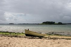 Ile aux Moines (Monks' Island), the largest of the islands in the Gulf of Morbihan, Bretagne.