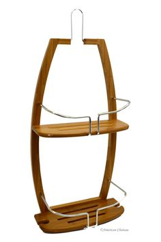 Bamboo Shower Caddy | American Chateau