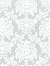 Floral Harlequin and Damask Sidewall