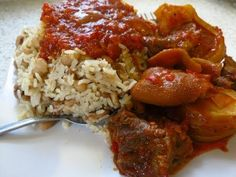 How to cook Nigerian Rice and Beans | Nigerian Food Recipes