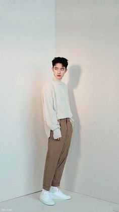 Kyungsoo for Marie Claire and High Cut Magazine October issue Kaisoo, Kyungsoo, Exo Ot12, Xiuchen, Do Kyung Soo, Exo Members, My Prince, Marie Claire, Boy Groups
