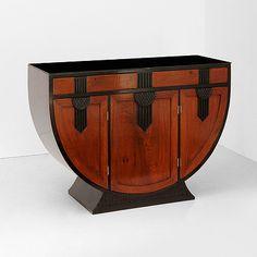 Art Deco Auction (Oct 31-Nov 1, 2012) - A U-SHAPED SIDEBOARD