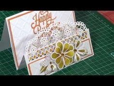 Die'sire Edge'ables - Making a Stepper Card | Hobbycraft - YouTube