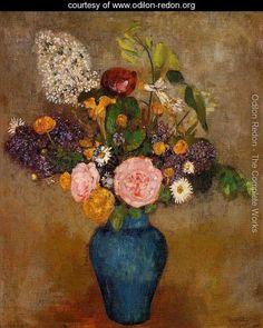 Vase Of Flowers6 - Odilon Redon - www.odilon-redon.org