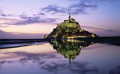 Mont-Saint-Michel #France #europe