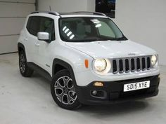 Used 2015 (15 reg) White Jeep Renegade 1.6 Multijet Limited 5dr for sale on RAC Cars