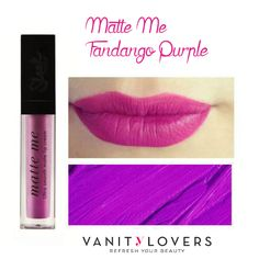 Sei pronta a stupire tutti con labbra meravigliose? http://www.vanitylovers.com/sleekmakeup-matte-me-fandango-purple.html?utm_source=pinterest.com&utm_medium=post&utm_content=vanity-lovers-sleek-fandango&utm_campaign=pin-vanity