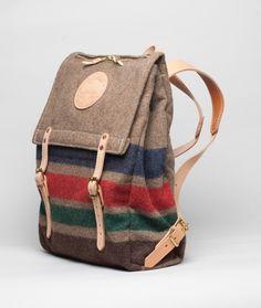 Yuketen - Canoe Back Pack http://shopfinal.tumblr.com/post/56972795037/yuketen-canoe-back-pack