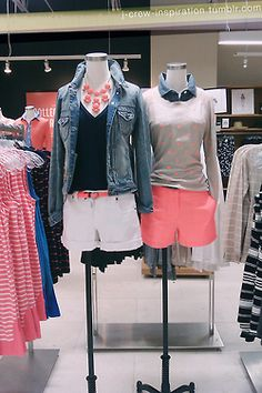 End of Summer/ Back to School Outfits from J. Crew