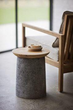 Decoreba Design: Móveis de concreto / concrete funiture