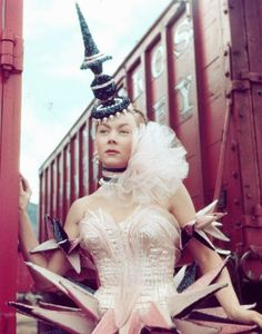 Film Noir Photos: Outlandish Hats: Gloria Grahame The Greatest Show on Earth (1952)