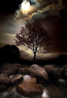 Moonrise, Northern Ireland